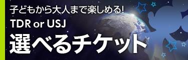 選べるチケット ディズニー or USJ