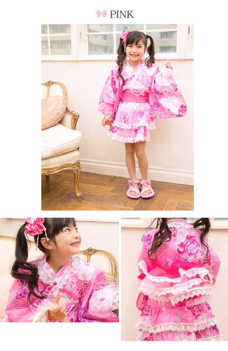 子供 浴衣ドレス