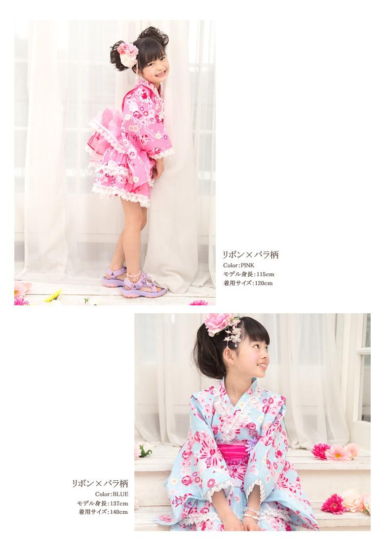 子供 浴衣ドレス 女の子