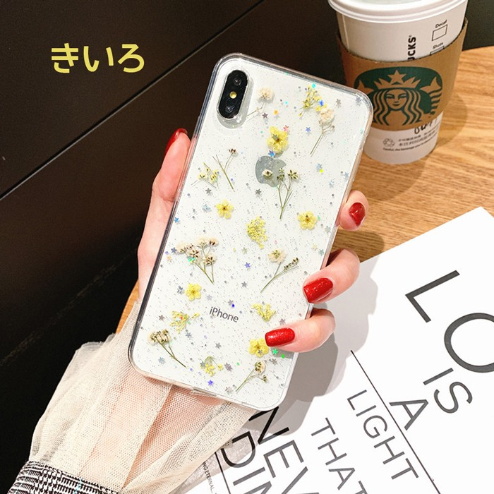 iPhone ケース iPhone XSMax iPhone XR iPhone X iPhone XS iPhone 8 iPhone 7 Plus クリア ソフト シンプル 透明 フラワー08