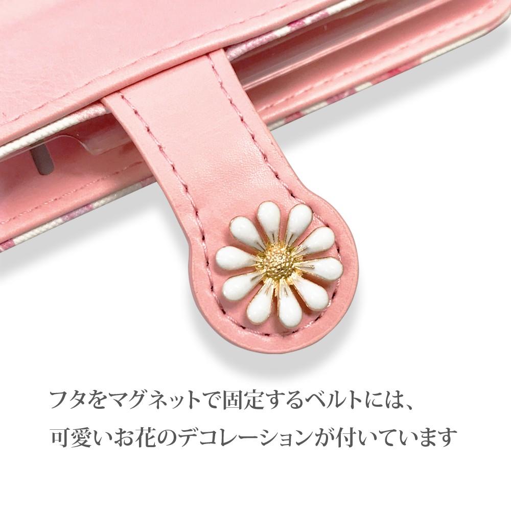 手帳型 ケース iPhone 11ProMax iPhone11Pro iPhone11 花柄 タッセル付き カード収納07