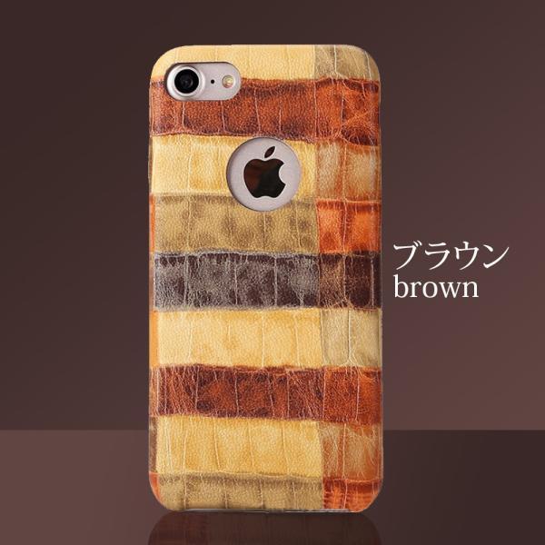 iPhoneケース iPhoneX iPhone8 iPhone7 iPhone8Plus iPhone7Plus ソフト オータムクロコ|monocase-store|12