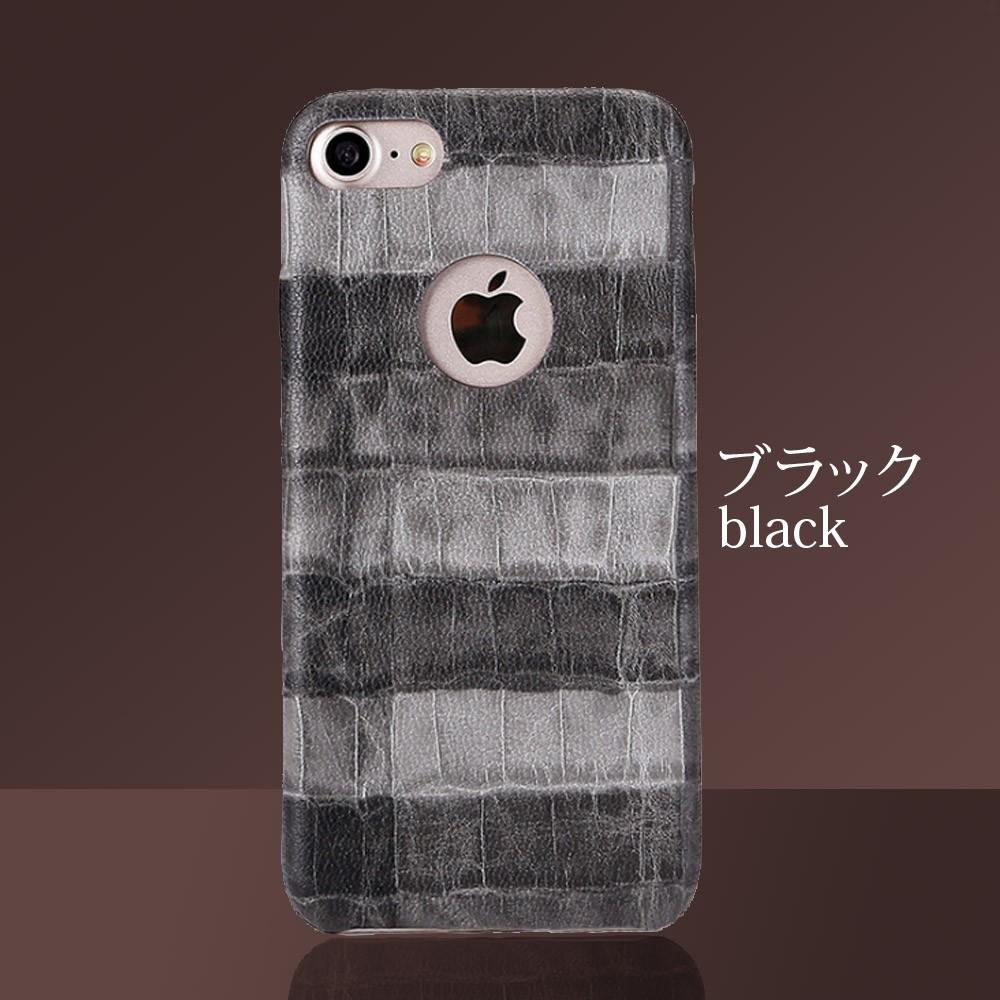 iPhoneケース iPhoneX iPhone8 iPhone7 iPhone8Plus iPhone7Plus ソフト オータムクロコ8