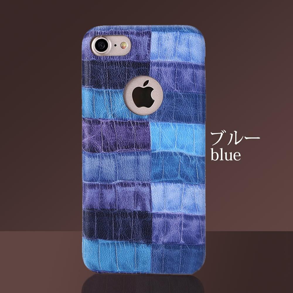 iPhoneケース iPhoneX iPhone8 iPhone7 iPhone8Plus iPhone7Plus ソフト オータムクロコ9