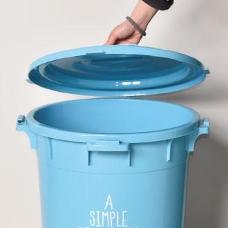 日本製 丸型カラーペール ゴミ箱 ごみ箱 ダストボックス