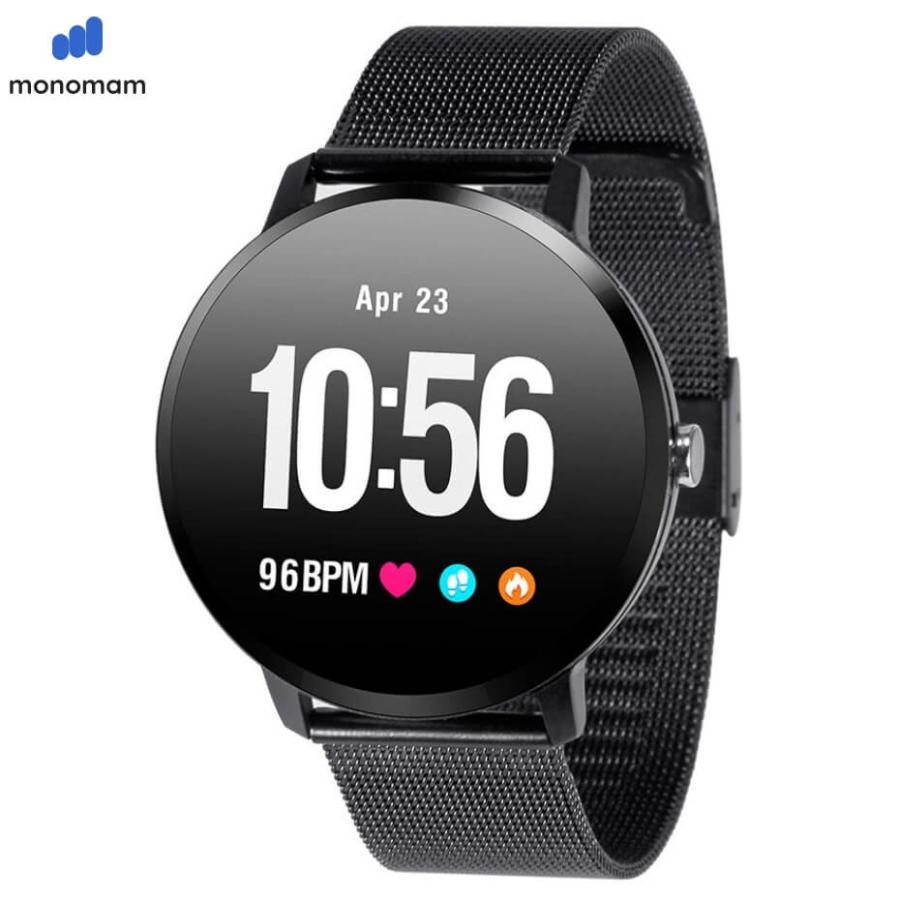 スマートウォッチ Iphone 対応 レディース メンズ アンドロイド 日本語 説明書 血圧 防水 モデル最新 日本語 Line対応 腕時計 スポーツ Sw V11 Monqle 通販 Yahoo ショッピング