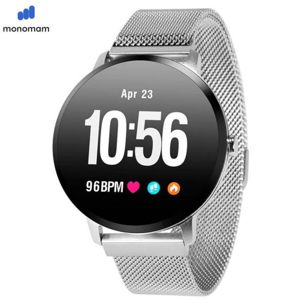 スマートウォッチ iphone 対応 レディース メンズ アンドロイド 日本語 説明書  血圧 防水 2020モデル最新 日本語 LINE対応 腕時計 スポーツ|monqle|23