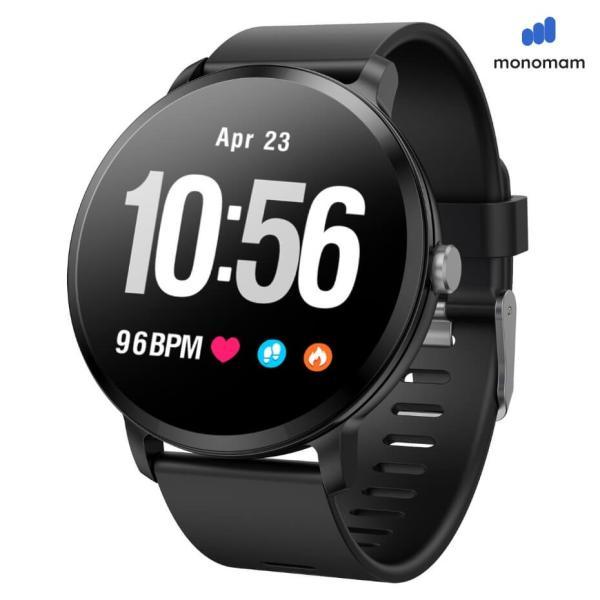 スマートウォッチ iphone 対応 レディース メンズ アンドロイド 日本語 説明書  血圧 防水 2020モデル最新 日本語 LINE対応 腕時計 スポーツ|monqle|18
