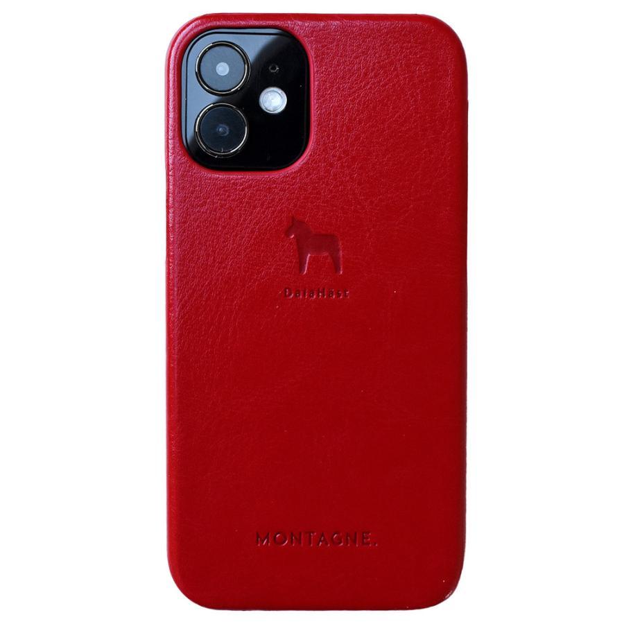 iPhoneケース スマホケース 名入れ対応 北欧 ダーラナホース PUレザー iPhone12 iPhoneSE(第2世代) iPhone11ProMax iPhoneXR iPhoneXsMax iPhone8/7 MON-PUL|montagne-y|22