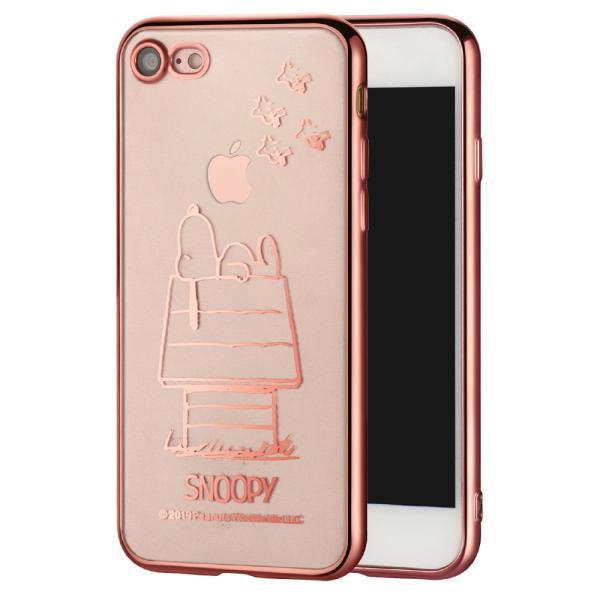 スヌーピー クリアケース iPhone11ProMax 11Pro iPhone11 iPhone8Plus/7Plus/8/7 iPhoneXR Xperia1/Ace/XZ3 対応 iPhoneケース サイドカラー iPhoneカバー TE552|montagne-y|12