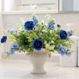光触媒アートフラワー(造花)ツインブルー