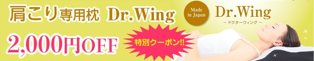 Dr.Wing2000円OFF