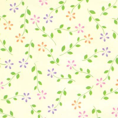 花柄包装紙