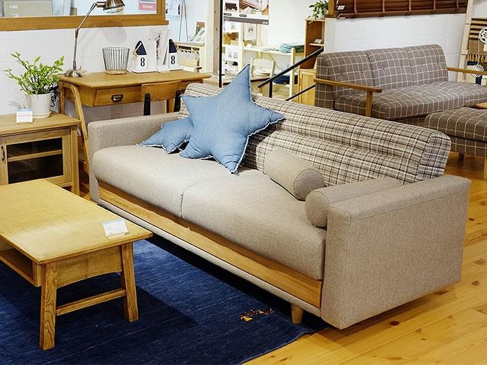 今なら送料無料、ソファーベッドに見えないオシャレで北欧テイストの収納できるソファーベッド ハーシー Hershey sofabed and g アンジー nora.