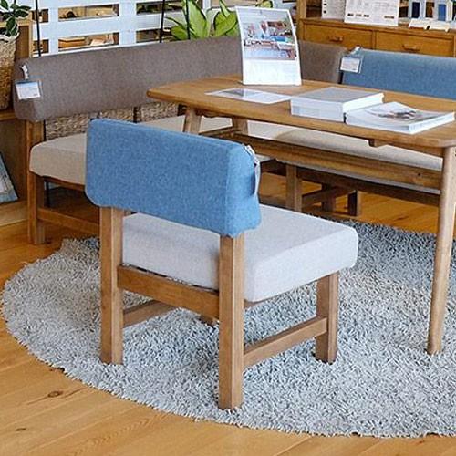 今なら送料無料、カフェのようなシンプルながら可愛さ満点のカントリーテイストの1Pソファー メレ アンジー ノラ ang-g nora. 関家具 雑貨テイスト ダイニングソファー