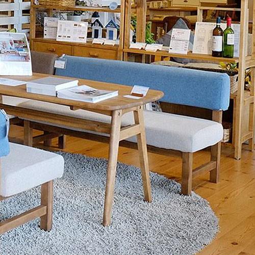 今なら送料無料、カフェのようなシンプルながら可愛さ満点のカントリーテイストのダイニングソファー メレ アンジー ノラ ang-g nora. 関家具 雑貨テイスト コンパクトソファー