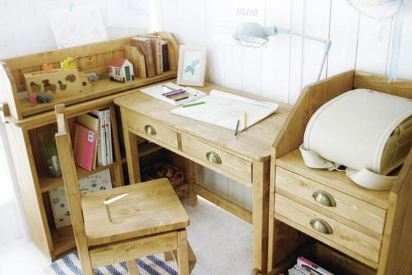 今なら送料無料、86cm幅のパイン材のオイル仕上げのかわいいリビングデスク用上棚 学習机 メッチ ブックスタンドMetchi book stand mam nora.ノラ