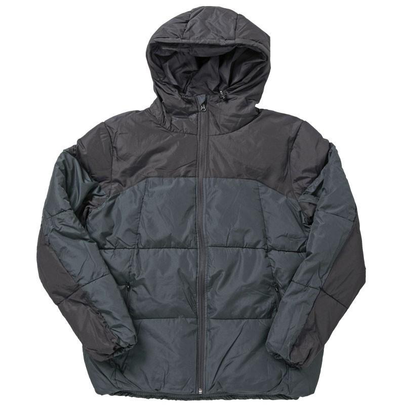 中綿ジャケット メンズ アウター ブルゾン デュスポ 切替 防風 防寒 軽量 ジャンパー フード ハイネック アウトドア 秋冬 中綿コート|mostshop|22