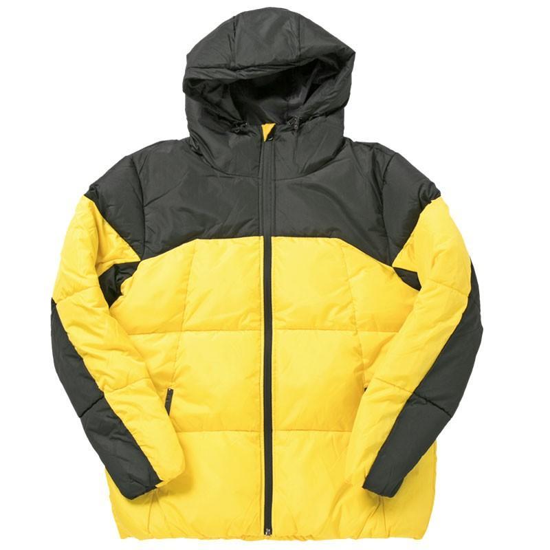 中綿ジャケット メンズ アウター ブルゾン デュスポ 切替 防風 防寒 軽量 ジャンパー フード ハイネック アウトドア 秋冬 中綿コート|mostshop|24