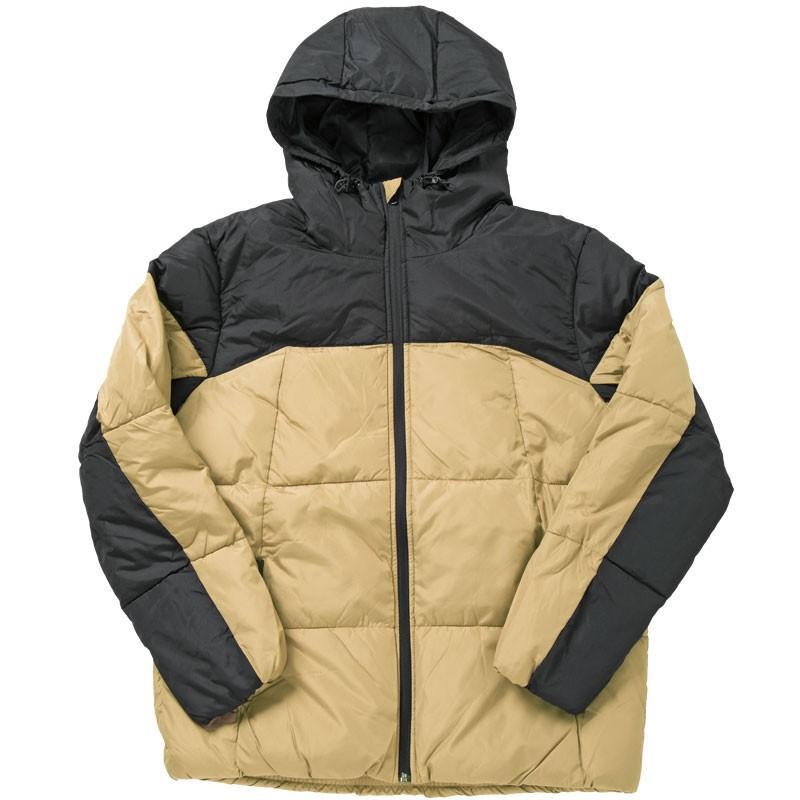 中綿ジャケット メンズ アウター ブルゾン デュスポ 切替 防風 防寒 軽量 ジャンパー フード ハイネック アウトドア 秋冬 中綿コート|mostshop|26