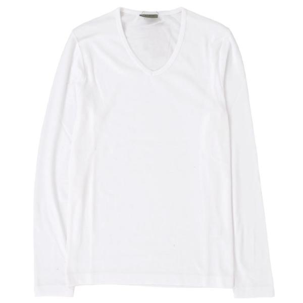 ロンT メンズ 長袖Tシャツ カットソー ロングTシャツ 7分袖 無地 Vネック シンプル インナー ストレッチ フライス トップス|mostshop|19