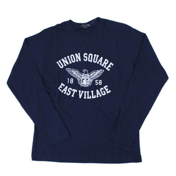 ロンT メンズ 長袖 Tシャツ プリントTシャツ ロングTシャツ クルーネック アメカジ ロゴT 文字 カットソー トップス セール|mostshop|24