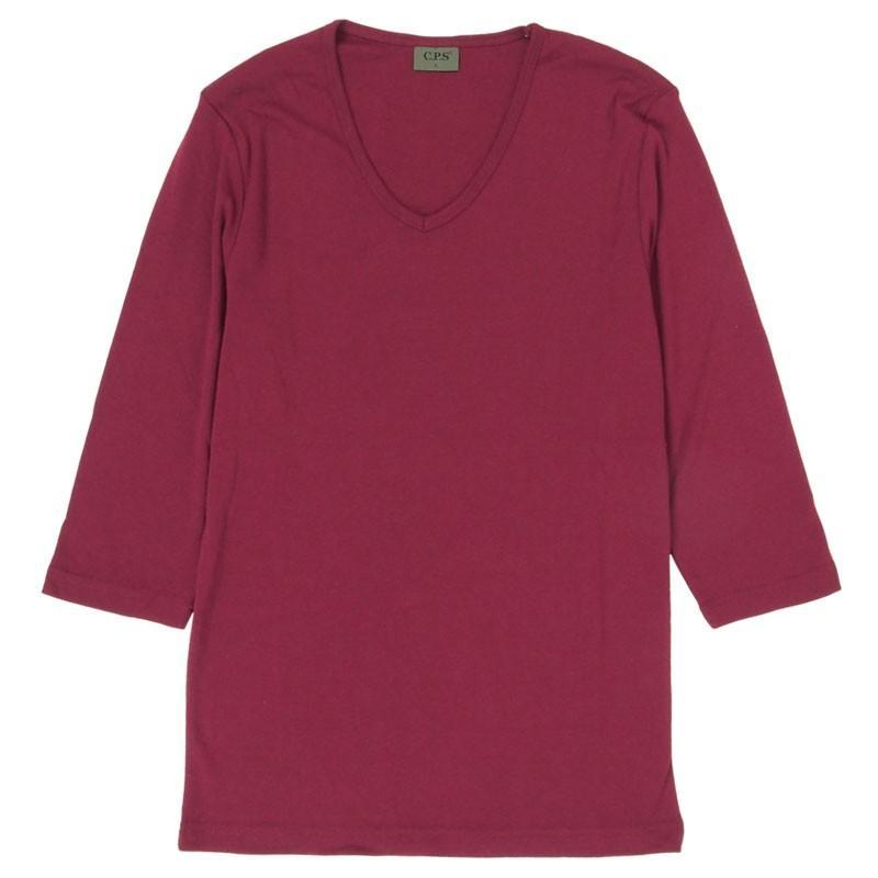 Tシャツ メンズ 半袖 無地 カットソー Vネック インナー 7分袖 半袖Tシャツ ストレッチ 伸縮 フライス トップス メンズファッション mostshop 31