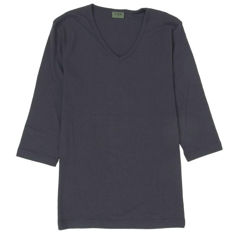 Tシャツ メンズ 半袖 無地 カットソー Vネック インナー 7分袖 半袖Tシャツ ストレッチ 伸縮 フライス トップス メンズファッション mostshop 32