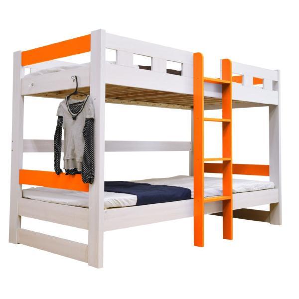 二段ベッド 2段ベッド ロータイプ2段ベッド ローシェンEX2(本体のみ)-ART 木製 ウッド|mote-kagu|14
