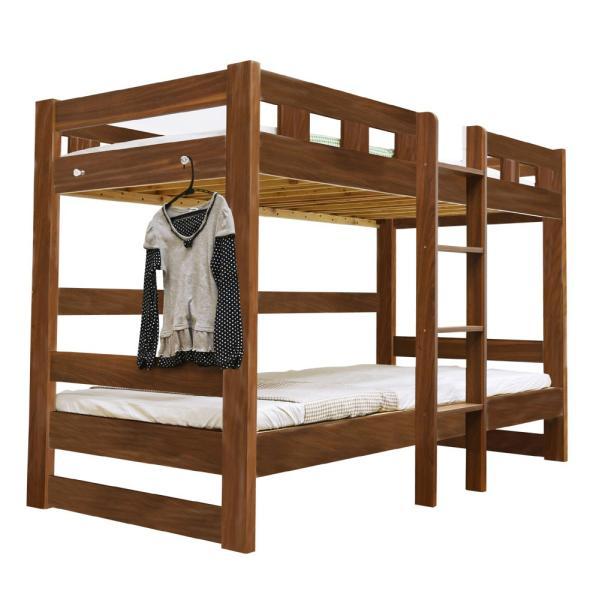 二段ベッド 2段ベッド ロータイプ2段ベッド ローシェンEX2(本体のみ)-ART 木製 ウッド|mote-kagu|18