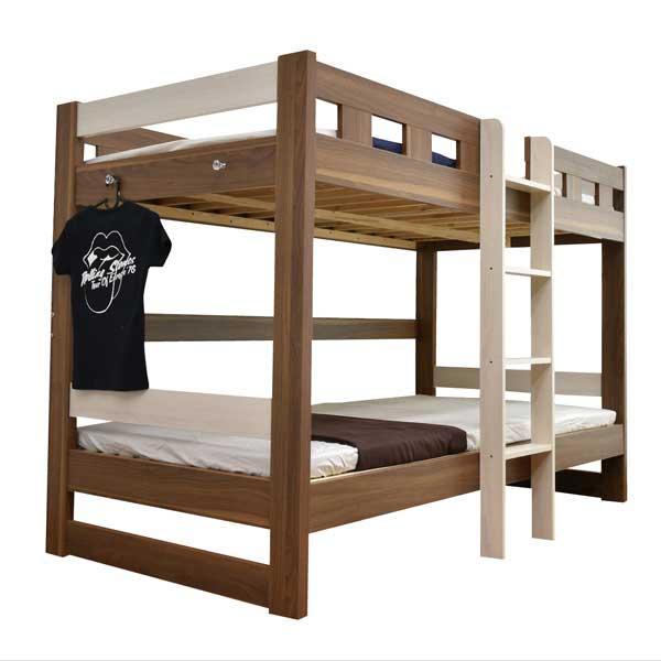 二段ベッド 2段ベッド ロータイプ2段ベッド ローシェンEX2(本体のみ)-ART 木製 ウッド|mote-kagu|19