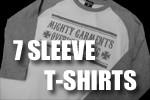 5分 7分袖Tシャツ