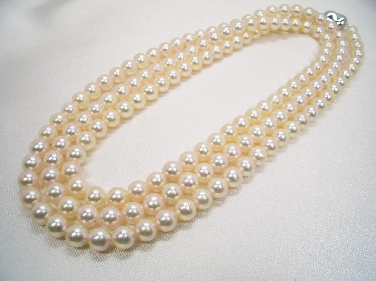 (A) 上質パールを大特価♪あこや真珠2点セット 【送料無料】 (B) 定番セット! ピアス イヤリング