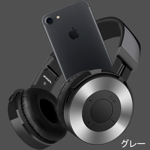 Bluetooth ヘッドホン ヘッドフォン ワイヤレスヘッドフォン ブルートゥース ヘッドセット 折りたたみ 密閉型ステレオ HIFI 重低音|mrface|18
