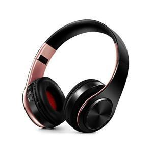 Bluetoothヘッドホン ワイヤレスヘッドフォン Bluetooth5.0 ヘッドホン 11色 重低音重視 高音質 折りたたみ式 ケーブル着脱式 日本語説明書 マイク内蔵|mrface|24