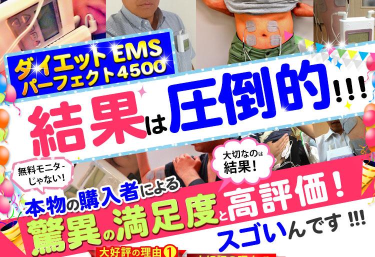 人気の干渉波EMSマシン