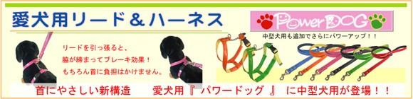 犬用リード&ハーネス(胴輪)