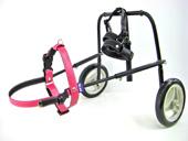 犬用車椅子・ピンク