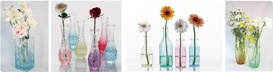「花のある空間」に彩りを添える新しいフラワーベース