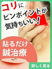 ひ鍼 肩こり 腰痛 生理痛 腱鞘炎 筋肉痛 皮内針 円皮鍼