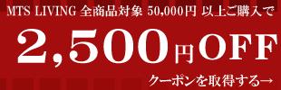 2500クーポン