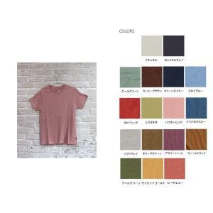 Tシャツ オーガニック 2019年新色ゴーヘンプ GOHEMP ウーマン ベーシックTシャツ WOMAN BASIC S/SL TEE 送料無料 ヘンプ 麻 半袖 mugigokoro-y 07