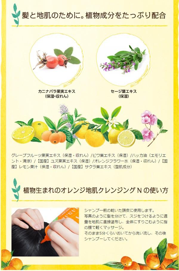 植物&フルーツエキスや精油の効果でシャンプー前に頭皮につけてマーサージするだけで、汚れも脂もスッキリ!
