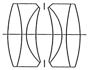 ダゴール型の光学図