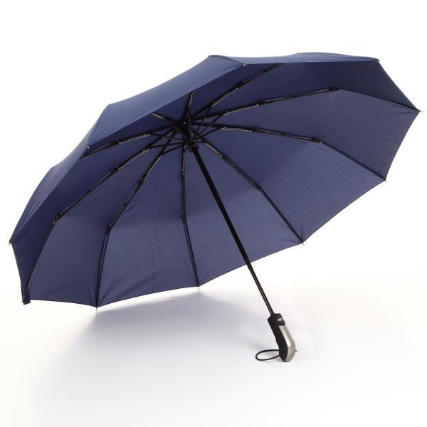折りたたみ傘 傘 耐風 晴雨兼用 日傘 折りたたみ ワンタッチ自動開閉 撥水加工 高強度グラスファイバー 頑丈な10本骨 118cm 収納ポーチ付|mujina|19