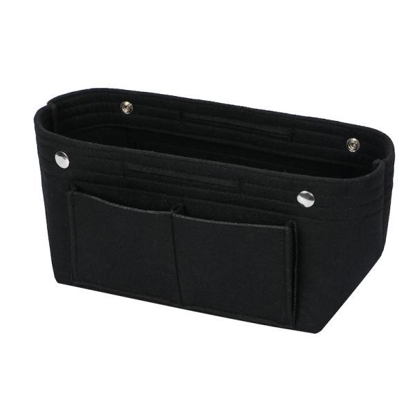 バッグインバッグ フェルト収納バッグ インナーバッグ 整理軽量|mujina|17