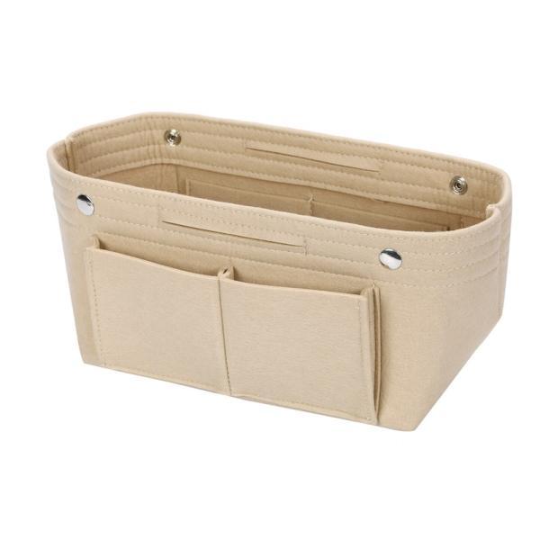バッグインバッグ フェルト収納バッグ インナーバッグ 整理軽量|mujina|21