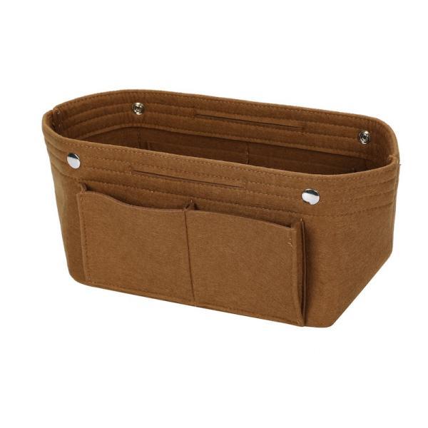 バッグインバッグ フェルト収納バッグ インナーバッグ 整理軽量|mujina|20