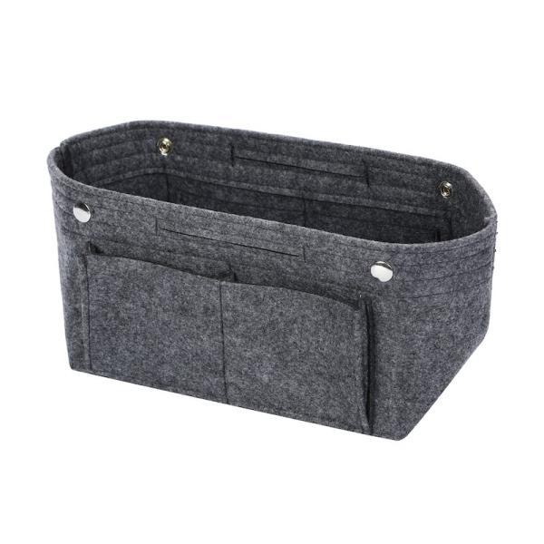 バッグインバッグ フェルト収納バッグ インナーバッグ 整理軽量|mujina|18
