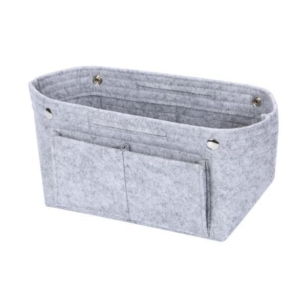 バッグインバッグ フェルト収納バッグ インナーバッグ 整理軽量|mujina|19